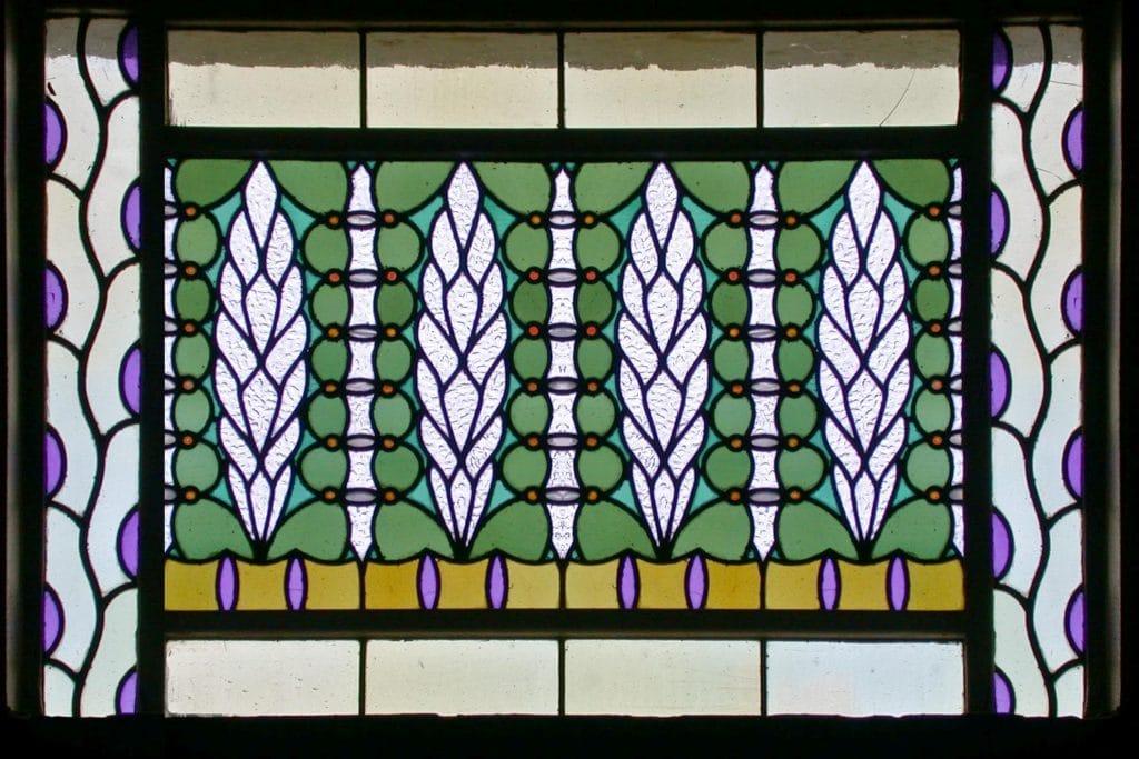 Badehaus 4 Jugendstilfenster Bad Nauheim Sprudelhof