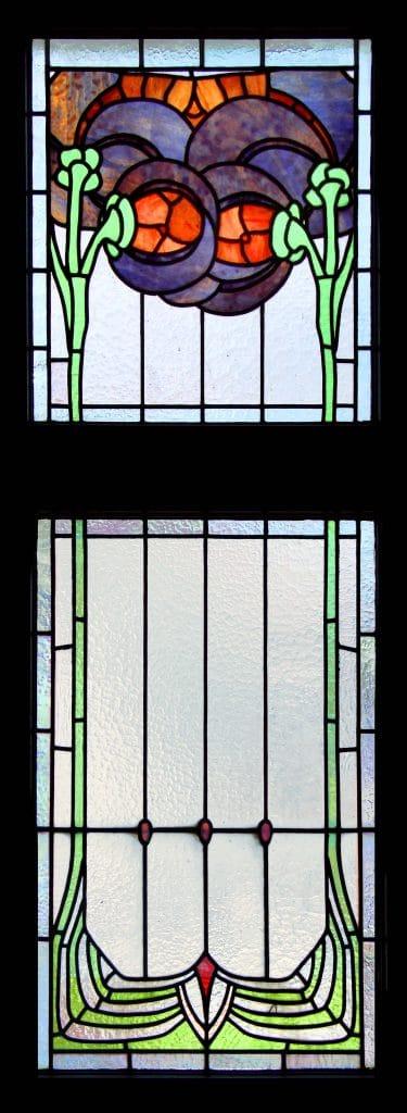 Jugendstilfenster Verwaltungsgebäude Sprudelhof Bad Nauheim